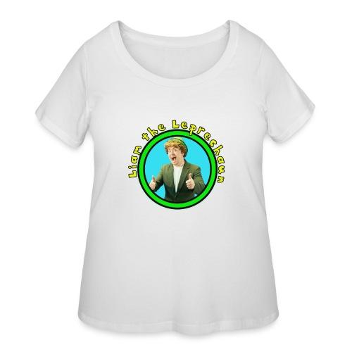 Liam the Leprechaun Tee - Women's Curvy T-Shirt