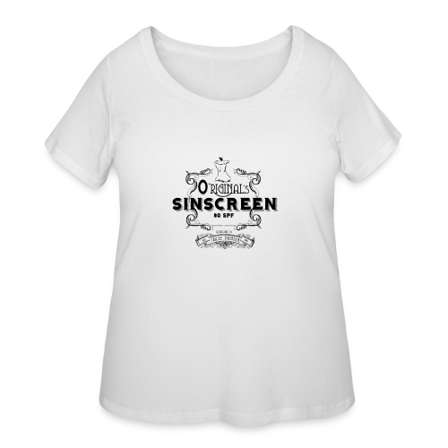 O'Riginal's Sinscreen - Women's Curvy T-Shirt