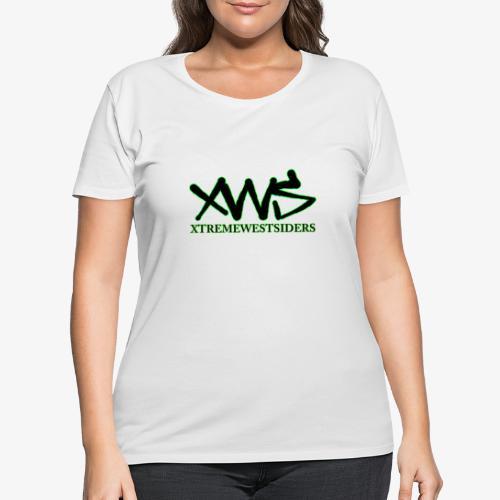 XWS Logo - Women's Curvy T-Shirt