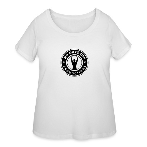 No Days Off Productions - Women's Curvy T-Shirt