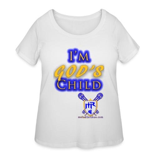 God s Child T - Women's Curvy T-Shirt