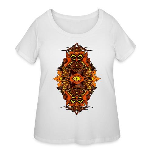 Eternal Voyage III - Fire - Women's Curvy T-Shirt