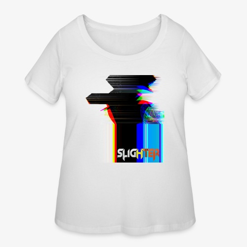 Chroma Glitch - Women's Curvy T-Shirt