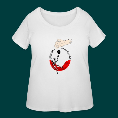 cool - Women's Curvy T-Shirt