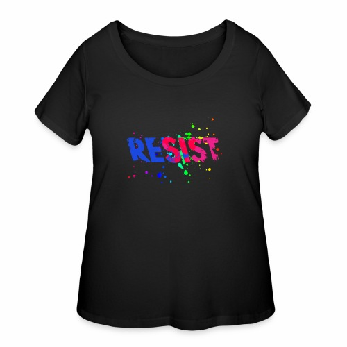 Resist - Women's Curvy T-Shirt