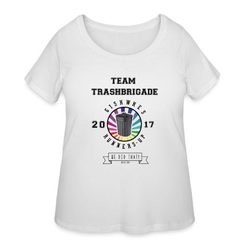 TrashBrigade 2017 - Women's Curvy T-Shirt