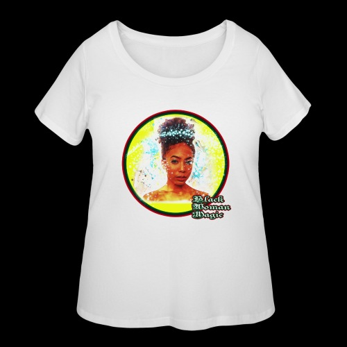 Black Woman Magic - Women's Curvy T-Shirt