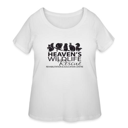 Heaven's Wildlife Rescue - Women's Curvy T-Shirt