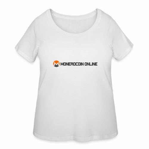 monerocoin online dar - Women's Curvy T-Shirt