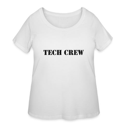 Tech Crew - Women's Curvy T-Shirt