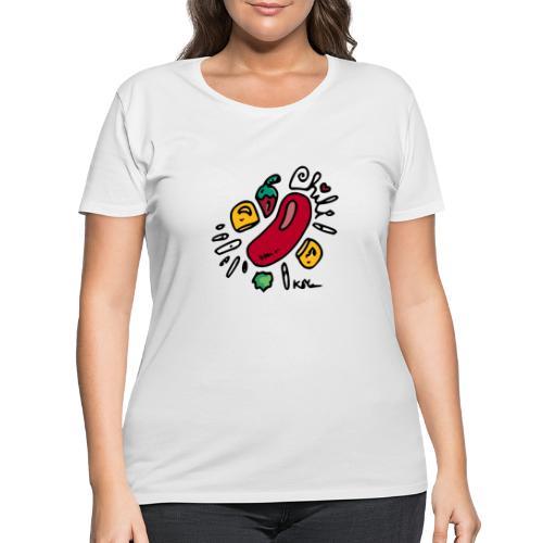 Chili - Women's Curvy T-Shirt