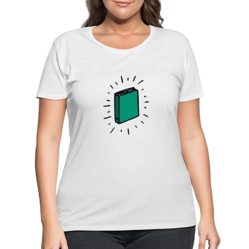Book - Women's Curvy T-Shirt