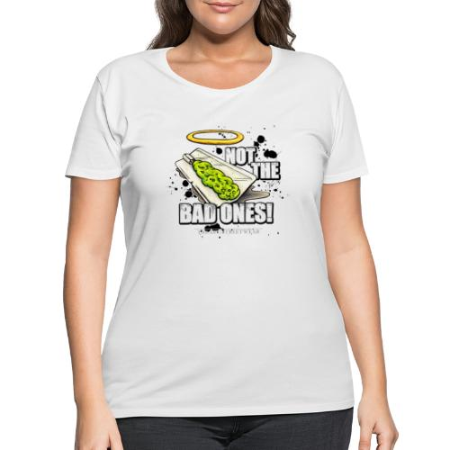 not the bad ones - Women's Curvy T-Shirt