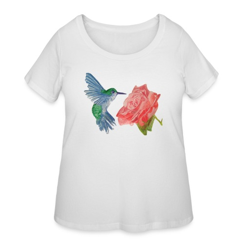 Hummingbird - Women's Curvy T-Shirt