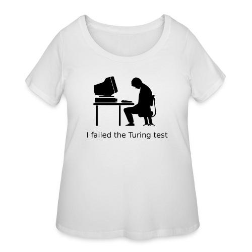 Turing test - Women's Curvy T-Shirt