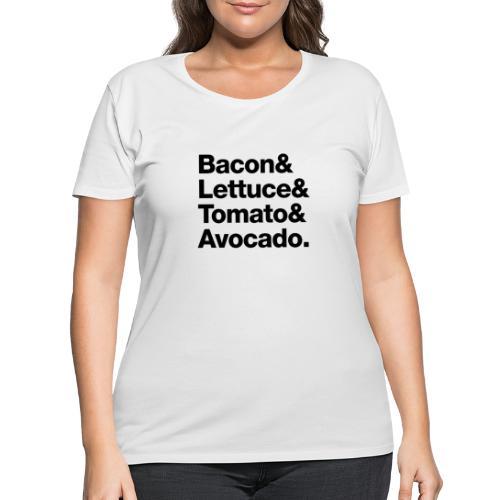 BLTA - Women's Curvy T-Shirt