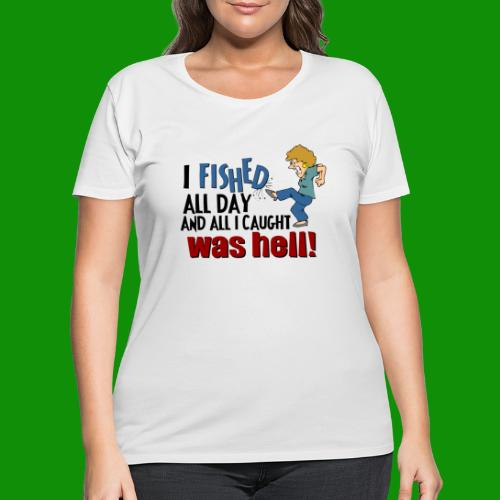 Caught Hell - Women's Curvy T-Shirt