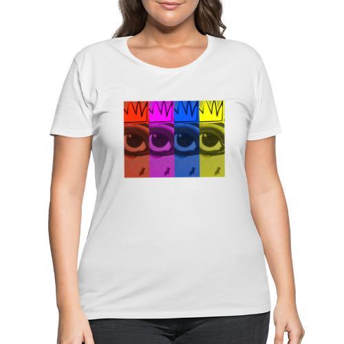 Eye Queen - Women's Curvy T-Shirt