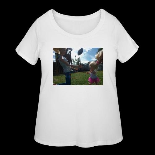Babies sunny day - Women's Curvy T-Shirt