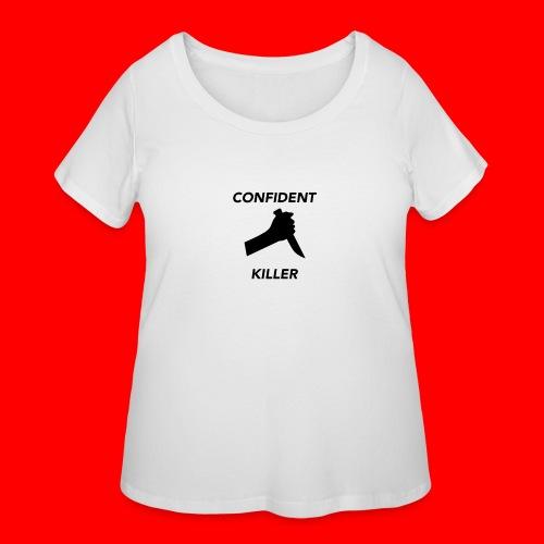 OxyGang: Confident Killer Products - Women's Curvy T-Shirt