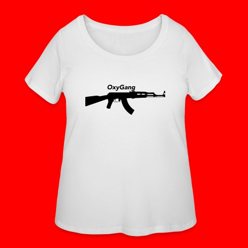 OxyGang: AK-47 Products - Women's Curvy T-Shirt
