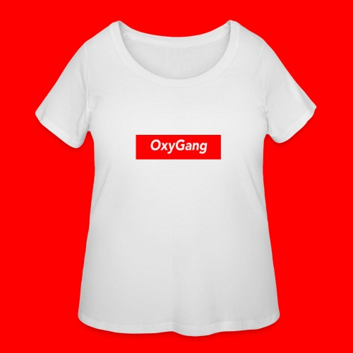 OxyGang: Red Box Products - Women's Curvy T-Shirt
