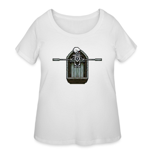 Ghost boat - Women's Curvy T-Shirt