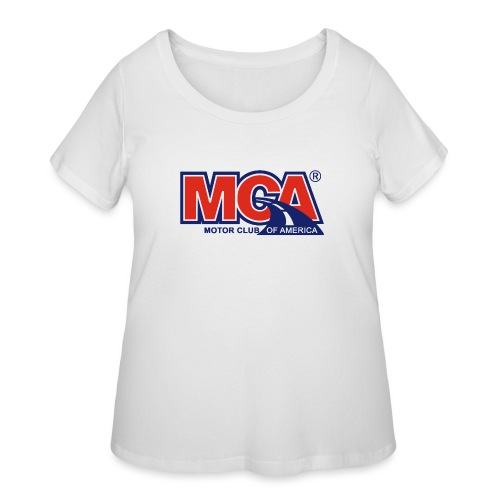 MCA - Women's Curvy T-Shirt
