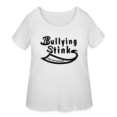 Bullying Stinks! - Women's Curvy T-Shirt