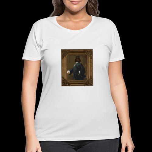 Darth Vintage | Style Wars - Women's Curvy T-Shirt