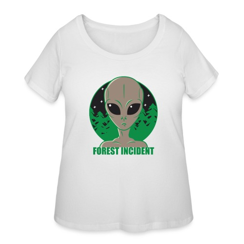 FOREST INCIDENT - Women's Curvy T-Shirt