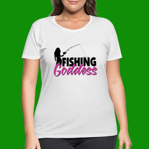 FISHING GODDESS - Women's Curvy T-Shirt