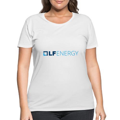 LF Energy Color - Women's Curvy T-Shirt