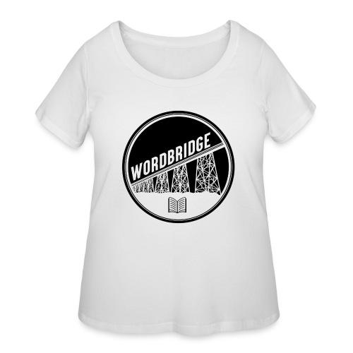 WordBridge Conference Logo - Women's Curvy T-Shirt