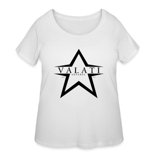 V-STAR Black - Women's Curvy T-Shirt