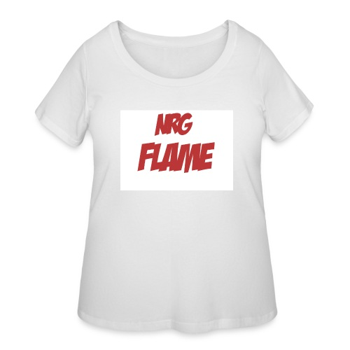FLAME - Women's Curvy T-Shirt