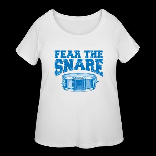 FEAR THE SNARE - Women's Curvy T-Shirt