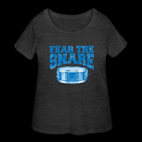 FEAR THE SNARE - Women's Curvy T-Shirt