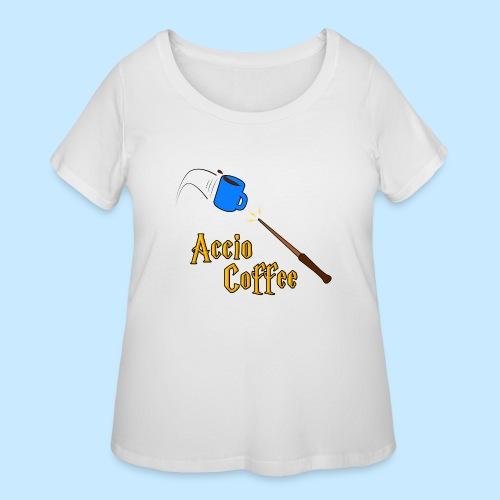 Accio Coffee - Women's Curvy T-Shirt