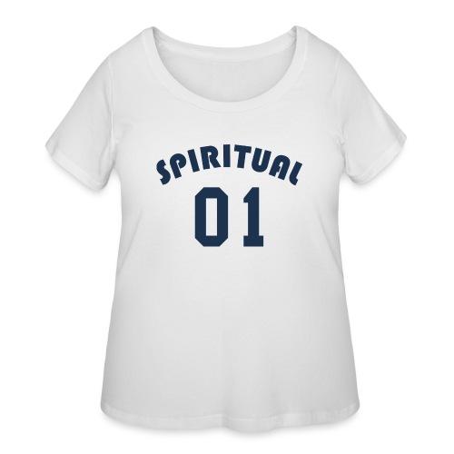 Spiritual One - Women's Curvy T-Shirt