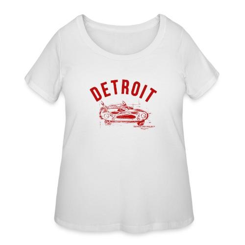 Detroit Art Project - Women's Curvy T-Shirt