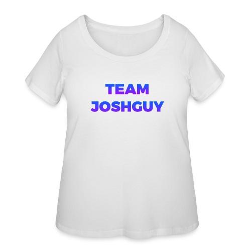 Team JoshGuy - Women's Curvy T-Shirt