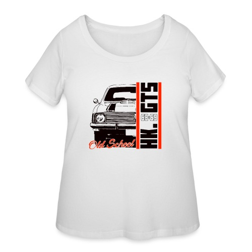 HK 1/2 OLDSCHOOLTSHIRTS - Women's Curvy T-Shirt