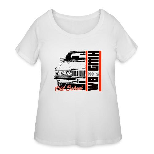 WB 1/2 OLD - Women's Curvy T-Shirt