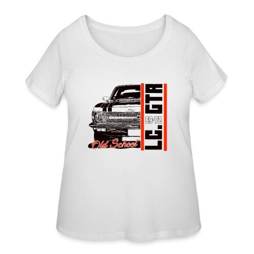 LC GTR 1/2 OLD - Women's Curvy T-Shirt