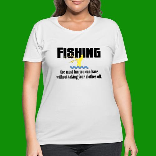 Fishing Fun - Women's Curvy T-Shirt