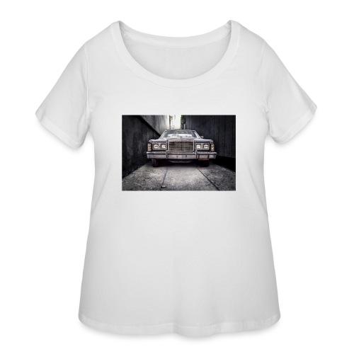 ford classic car automobile car 47358 jpg - Women's Curvy T-Shirt