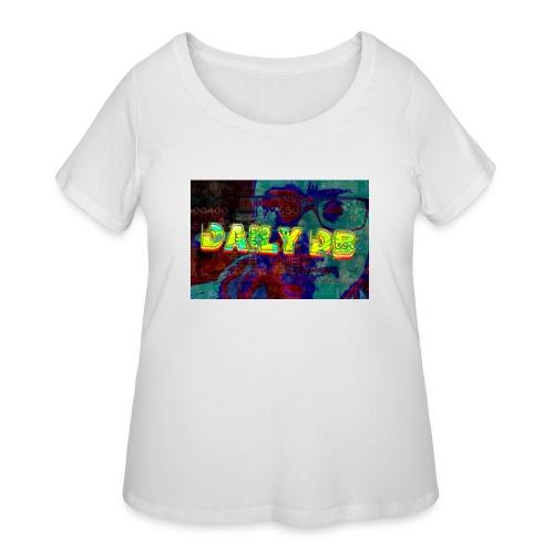 daily db poster - Women's Curvy T-Shirt
