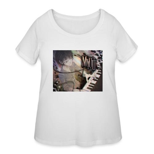 Dark Piano 1 - Women's Curvy T-Shirt