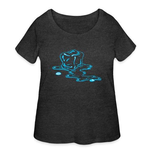 Ice melts - Women's Curvy T-Shirt